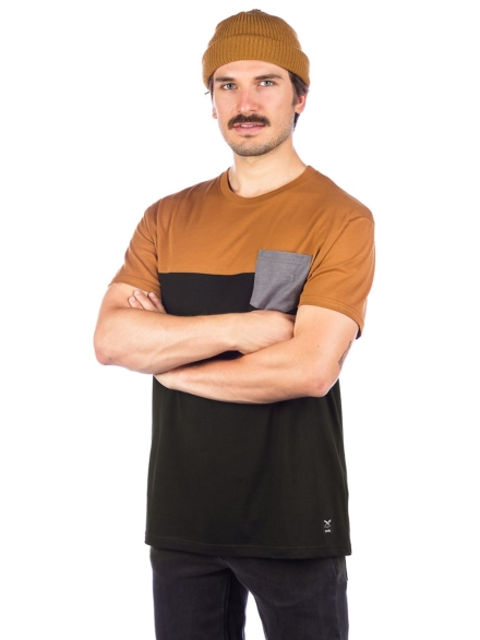 Iriedaily Block Pocket 2 T-Shirt zwart