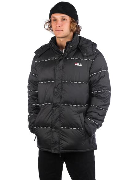 Fila Tatsuji Puff Ski jas zwart