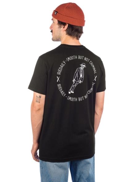 Iriedaily Not Criminal T-Shirt zwart