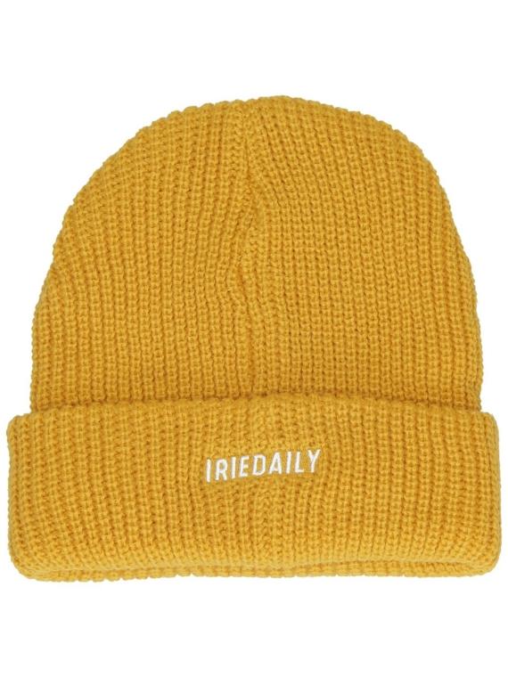 Iriedaily Shelter Heavy Beanie geel