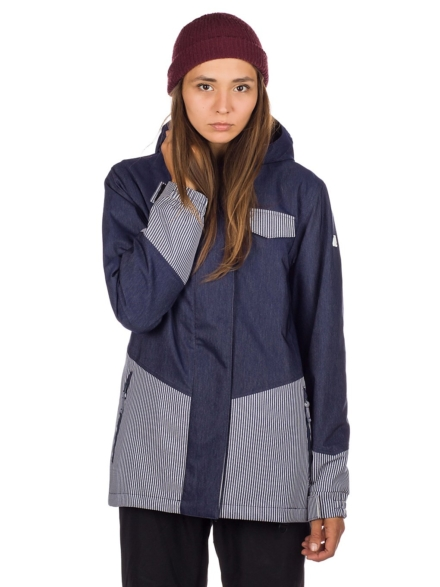 Aperture petjeitol Ski jas blauw