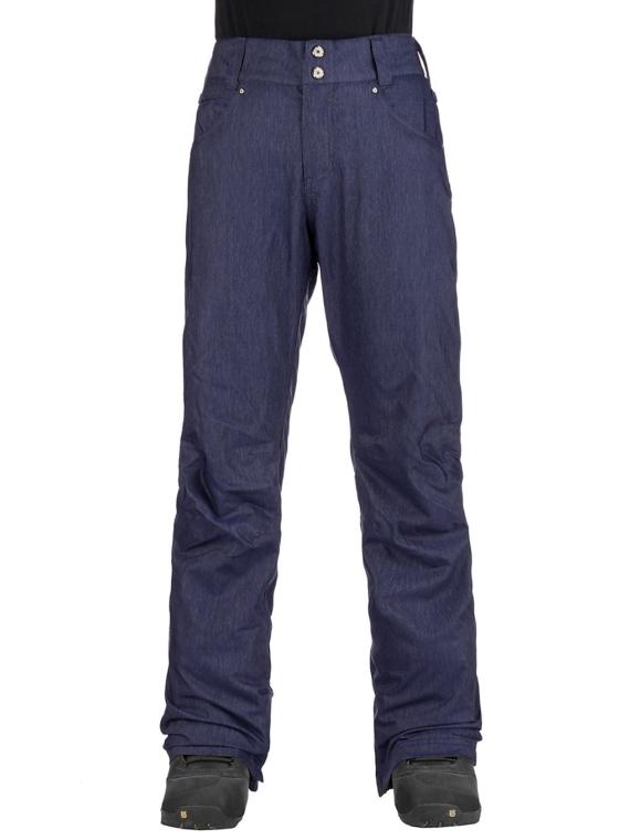 Aperture Crystaline broek blauw