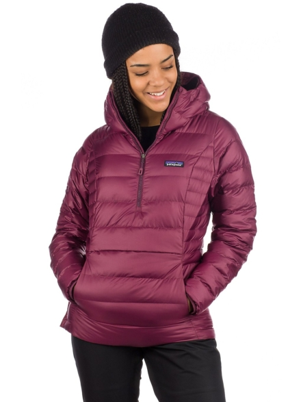 Patagonia Down Trui Hooded Insulator Anorak paars