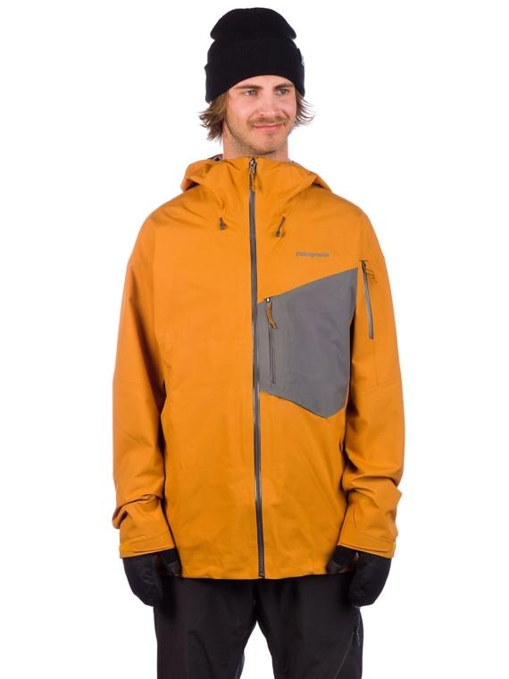 Patagonia Snowdrifter Ski jas geel