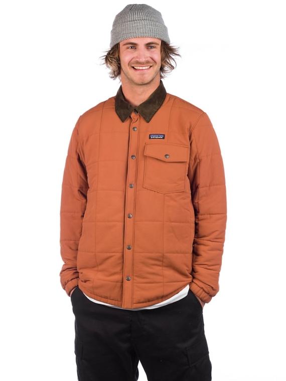 Patagonia Isthmus Quilted Shirt Ski jas bruin
