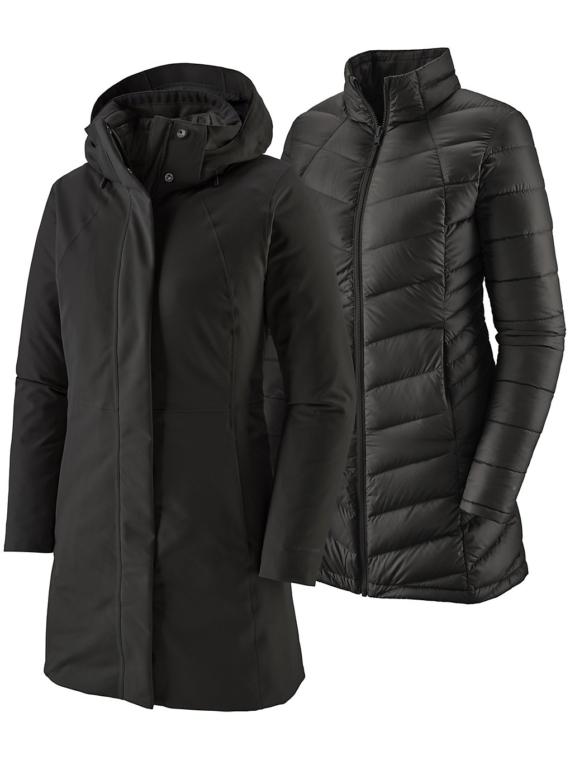 Patagonia Tres 3-in-1 Ski jas zwart