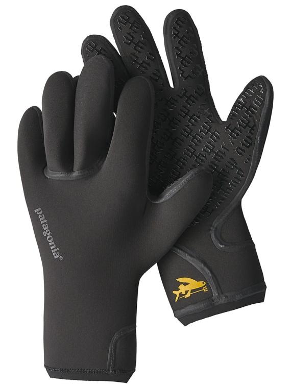 Patagonia R3 Yulex handschoenen zwart
