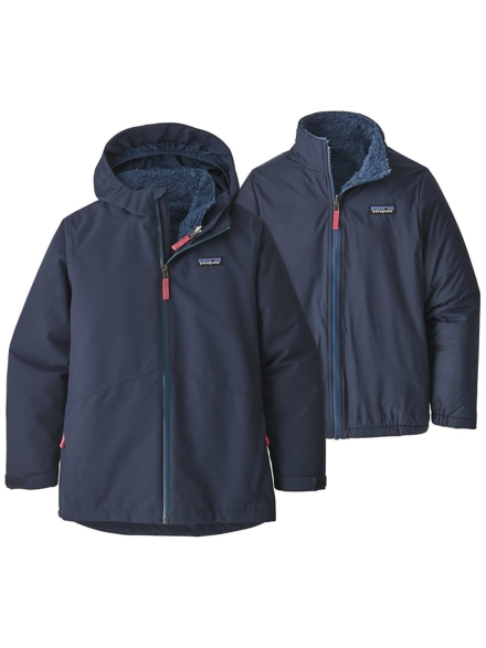 Patagonia 4-in-1 Everyday Ski jas blauw