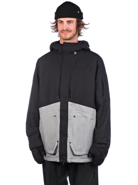 Volcom Scortch Insulator Ski jas zwart