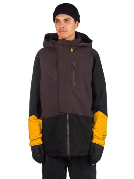 Volcom Bl Stretch Gore-Tex Ski jas zwart