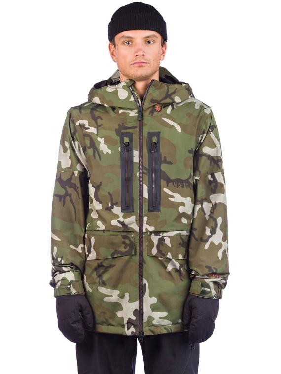 Volcom Stone Gore-Tex Ski jas camouflage