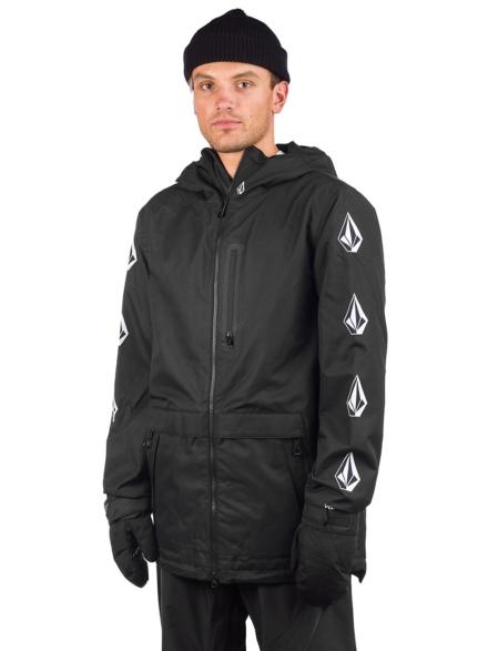 Volcom Deadly Stones Ski jas zwart
