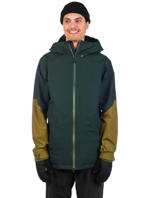 Volcom Resin Gore-Tex Ski jas groen