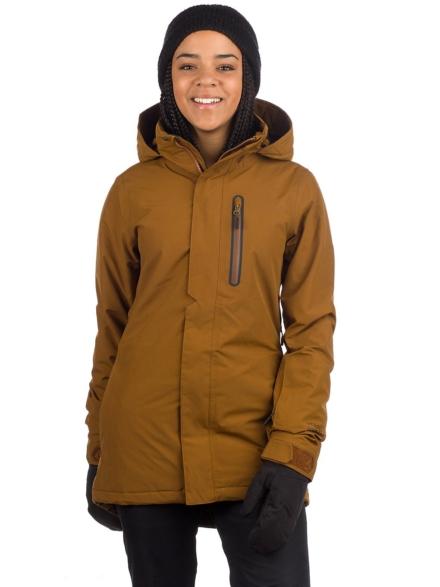 Volcom Eva Insulator Gore-Tex Ski jas bruin