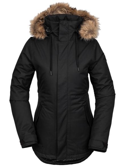 Volcom Fawn Insulated Ski jas zwart