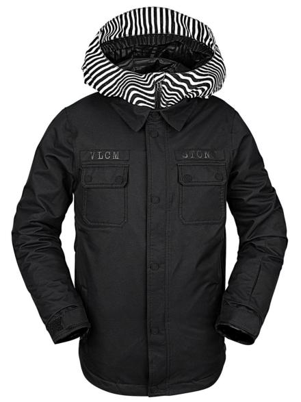 Volcom Neolithic Insulator Ski jas zwart