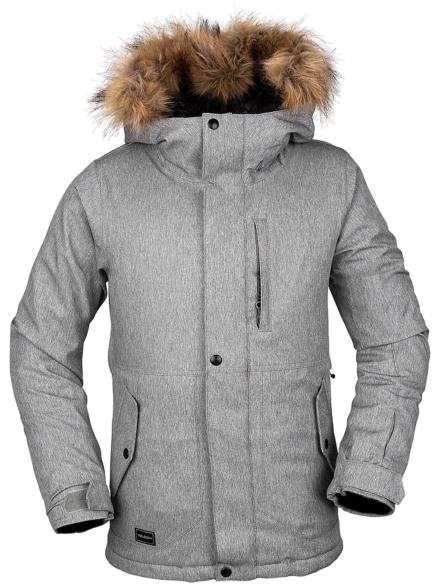 Volcom So Minty Insulated Ski jas grijs