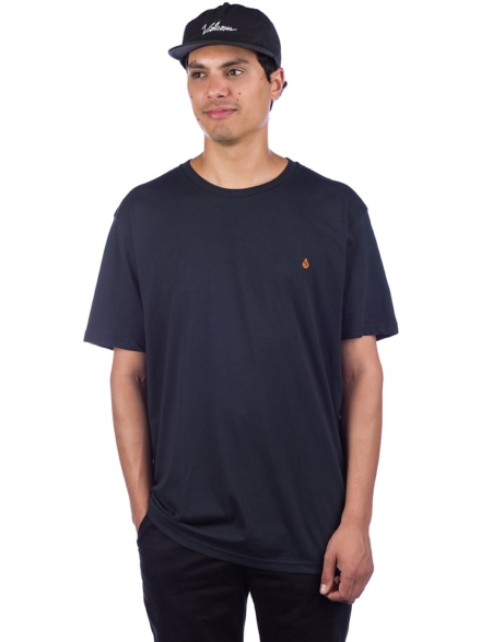 Volcom Stone Blank Basic T-Shirt zwart