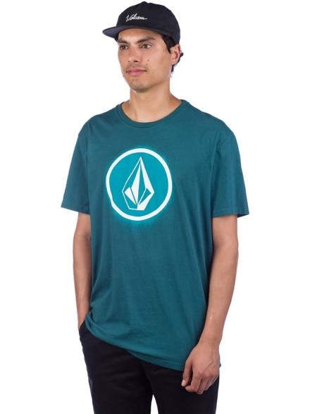 Volcom Spray Stone LTW T-Shirt blauw