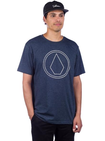 Volcom Pinstone HTH T-Shirt blauw