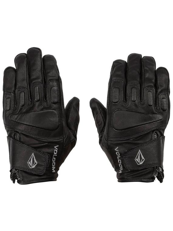 Volcom Crail lederen handschoenen zwart