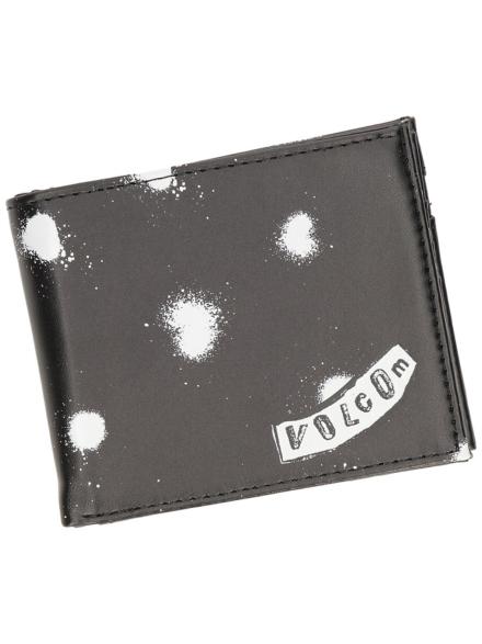 Volcom Empty PU Portemonnee zwart