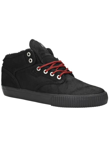 Globe Motley Mid Fur schoenen zwart