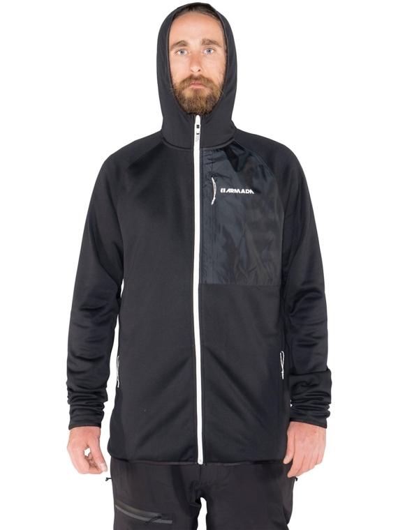 Armada Sintered Tech Fleece Pullover zwart