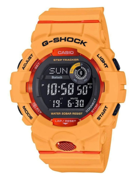 G-SHOCK GBD-800-4ER oranje