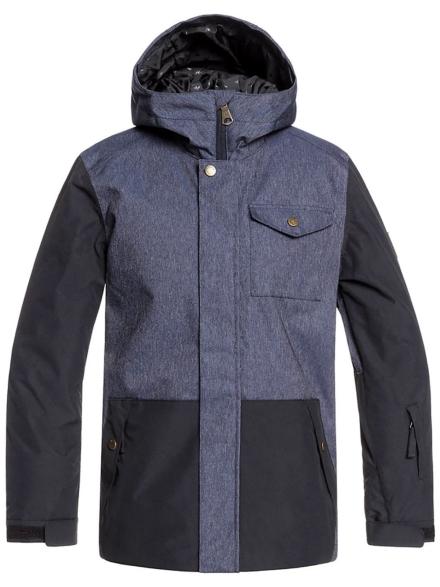 Quiksilver Ridge Ski jas blauw