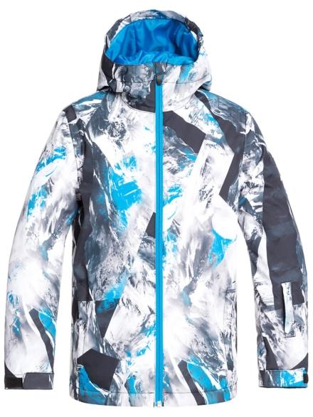 Quiksilver Mission Printed Ski jas blauw