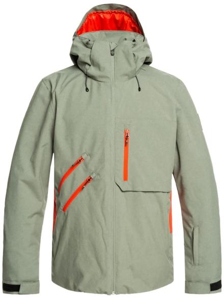 Quiksilver Traverse Ski jas groen
