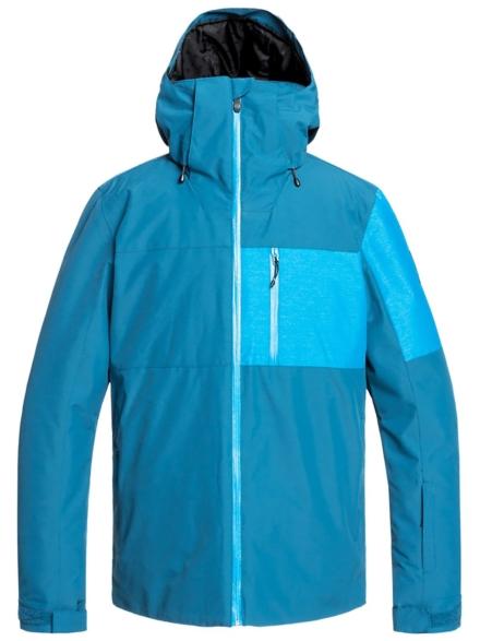 Quiksilver Mission Plus Ski jas blauw
