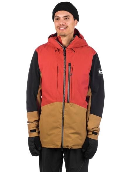 Quiksilver Travis Rice Stretch Ski jas rood