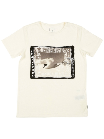 Quiksilver Double Threat T-Shirt wit