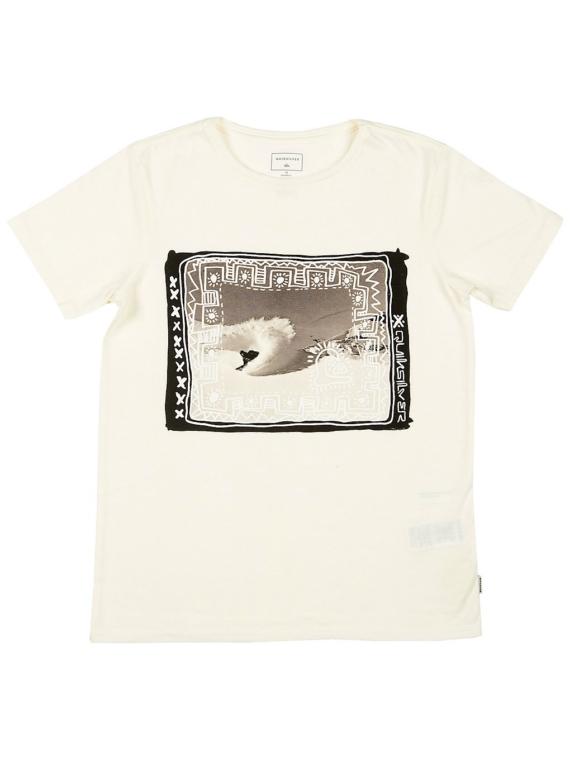 Quiksilver Double Threat T-Shirt wit