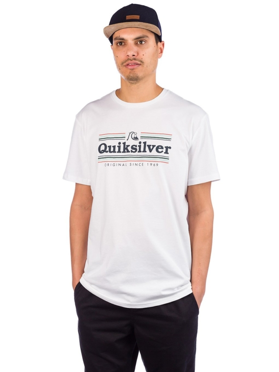 Quiksilver Get Buzzy T-Shirt wit