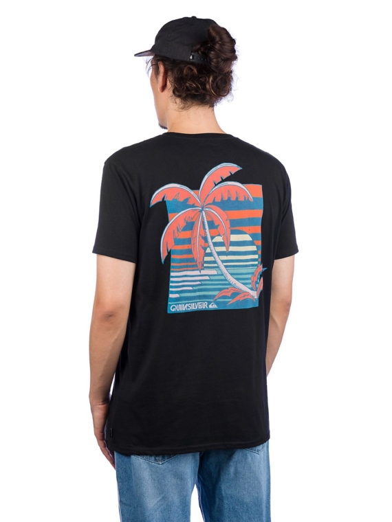 Quiksilver In The Jungle T-Shirt zwart
