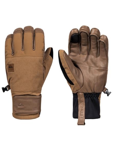 Quiksilver Squad handschoenen bruin