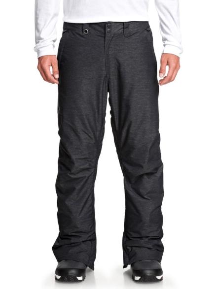 Quiksilver Estate Textured broek zwart