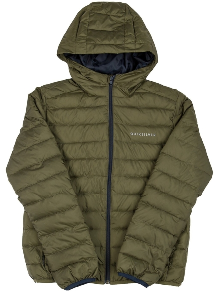 Quiksilver Scaly Insulator Ski jas groen