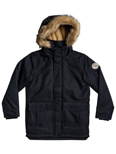 Quiksilver Bicheno Bloom Ski jas zwart