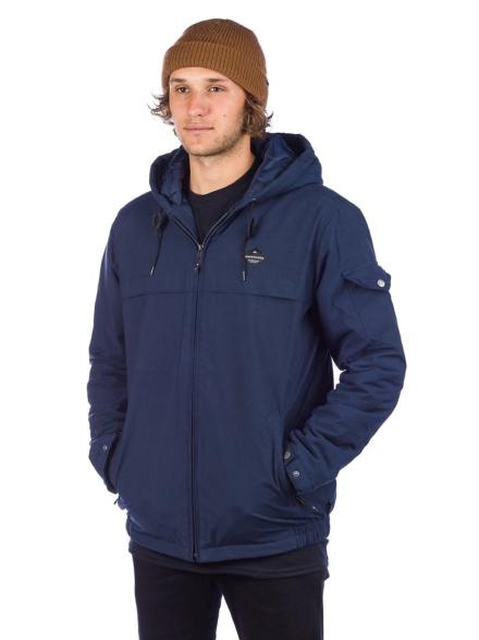 Quiksilver Shoreline Storm Fleece Ski jas blauw