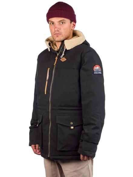 Picture Montana Ski jas zwart