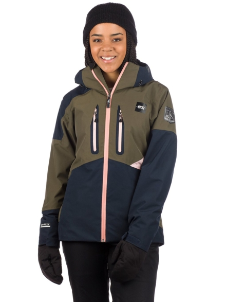 Picture Seen Ski jas groen
