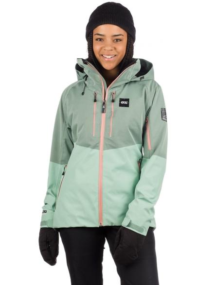 Picture Signe Ski jas groen