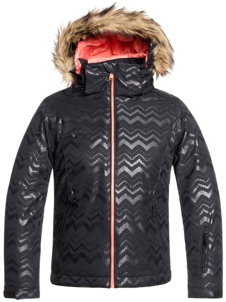 Roxy Jet Ski Solid Ski jas zwart