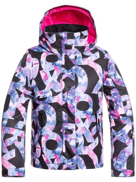 Roxy Jetty Ski jas zwart