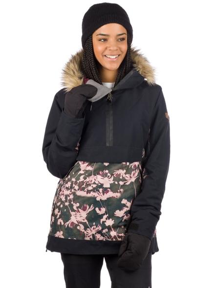 Roxy Shelter Anorak zwart