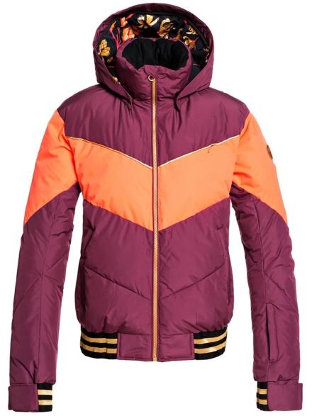Roxy Torah Bright Summit Ski jas rood